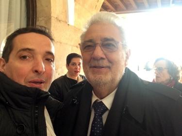 Juan Manuel Corchado - Plácido Domingo - Honoris Causa
