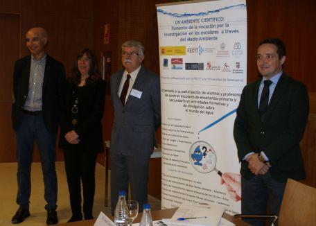 Presentación del proyecto del CIDTA y Fecyt (Foto: Dicyt)