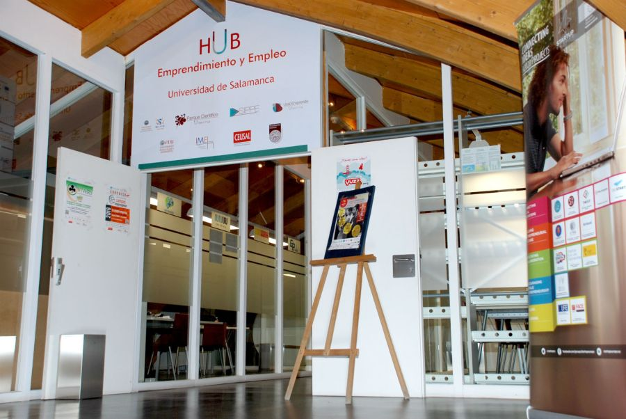 HUB de emprendedores, en la Hospedería Fonseca