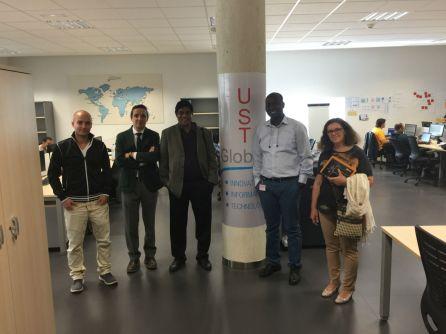 Visitando UST Global