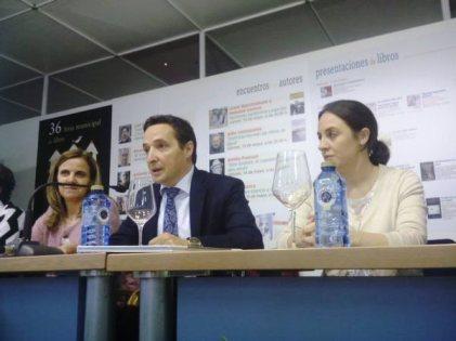 Con Esther del Brío y Blanca Hernández, delegada del gobierno para la violencia de género