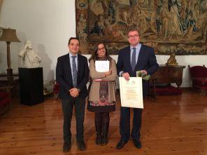 Con Isidro J. Alanis, director de Global Exchange y Pilar Martín, secretaria Consejo Social