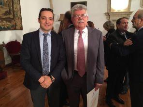 Con Manuel García Roig, dtor. del CIDTA
