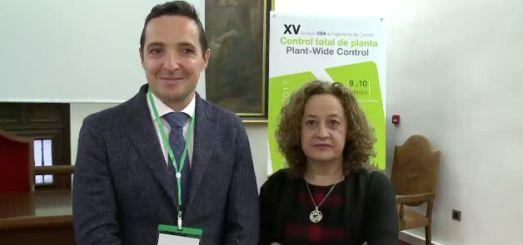 Con Pastora Isabel Vega