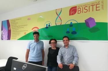 Denisa Reshef Kera Postdoct Marie Curie está impulsando ambiciosos proyectos en BISITE